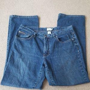 Women 12 Cavin Klein jeans